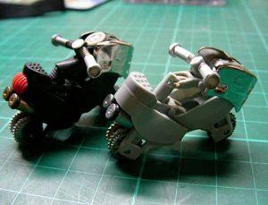 Hình 5- Tạo tay lái xe máy