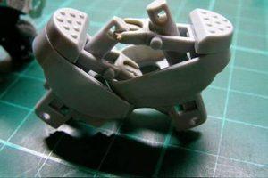Khung xe được tạo nên từ chi tiết 1 và 2