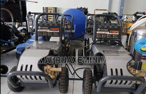 Máy rửa xe cao áp Đài Loan có mức giá thành hợp lý, khả năng phun rửa làm sạch tốt