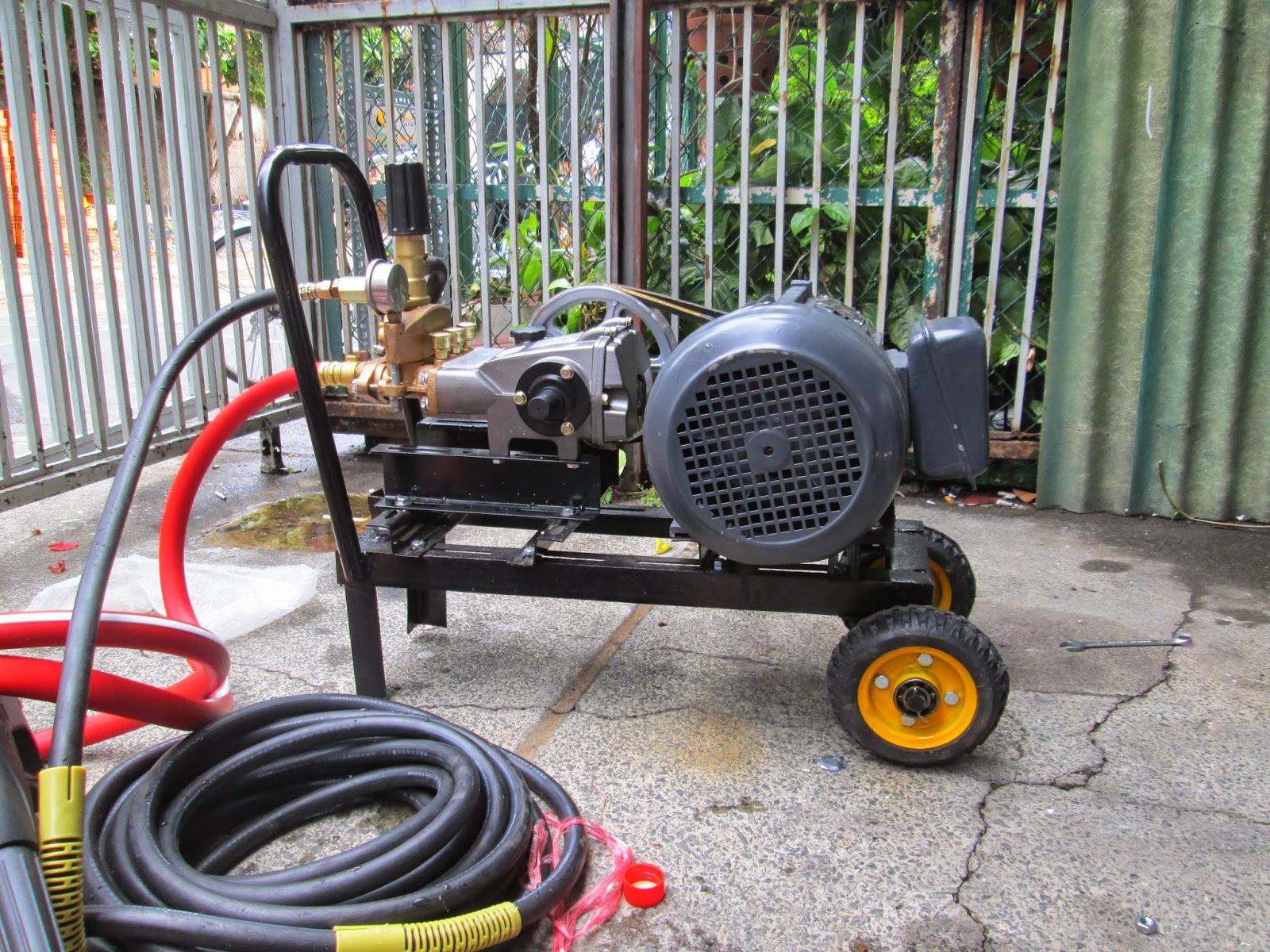 Kinh nghiệm mua máy bơm rửa xe cũ giá rẻ