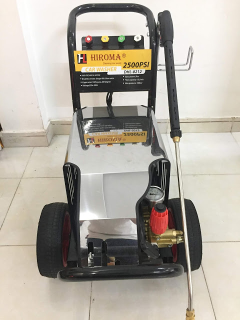 máy rửa xe hiroma
