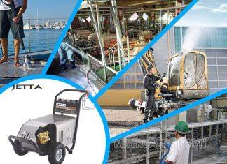 Máy xịt rưa rửa ô tô, xe máy Jetta có ứng dụng đa dạng