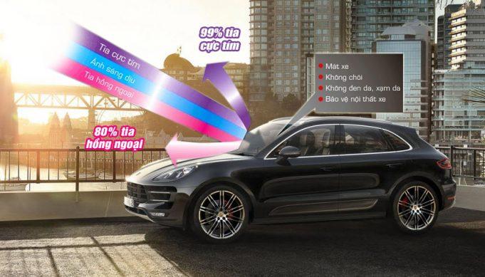 Phim cách nhiệt ô tô - Một cách chống nóng cho ô tô cực hiệu quả