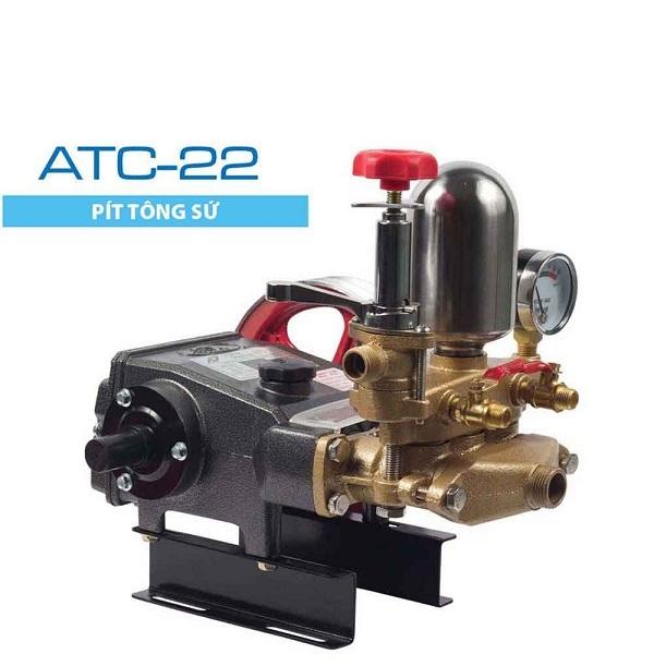 Đầu bơm rửa xe Nhật ATC 22 Piston sứ