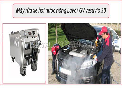 Đánh giá chi tiết máy xịt rửa xe hơi nước nóng Lavor GV Vesuvio 30