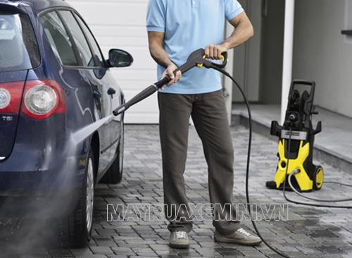 Karcher là thương hiệu cung cấp máy bơm rửa xe uy tín trên thị trường hiện nay