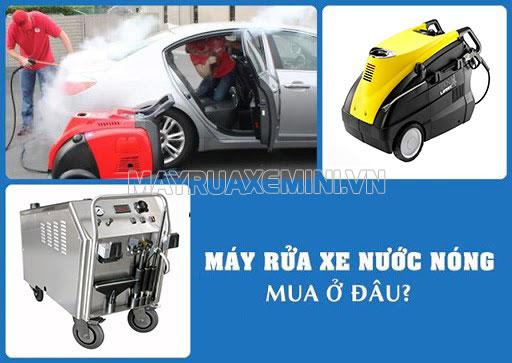 Mua máy rửa xe nước nóng Lavor ở đâu?