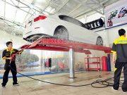Mô hình rửa xe hiện đại chuyên nghiệp