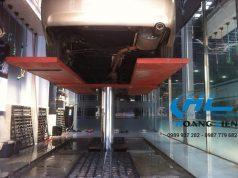 Lắp đặt cầu nâng 1 trụ rửa xe 7 Seven Bình Dương