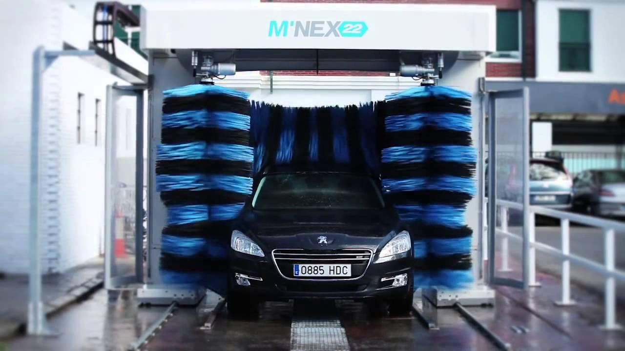Hệ thống rửa xe ô tô tự động