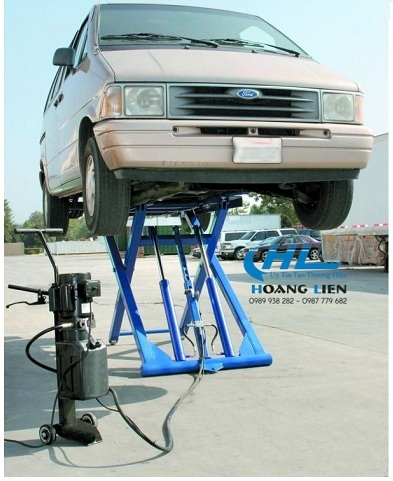 cầu nâng ô tô di động