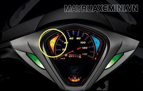 Nổ máy khi đèn báo FI còn sáng sẽ dẫn đén nguy cơ xe máy bị hỏng