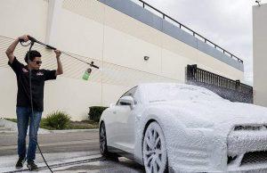 Bình bọt tuyết rửa xe