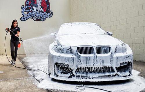 Công nghệ rửa xe không chạm giúp bảo vệ ô tô của bạn một cách tối đa