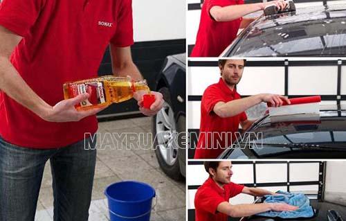Cách rửa xe bằng Sonax hiệu quả