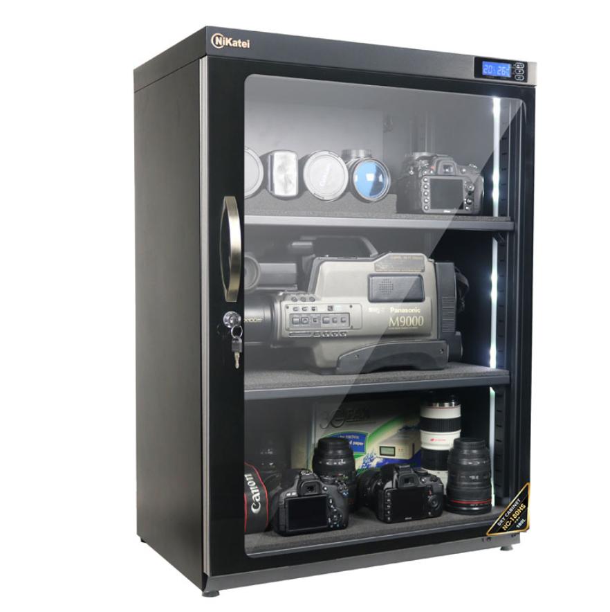 Tủ chống ẩm giúp bảo quản thiết bị ngày nồm rất tốt