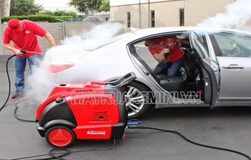 Công nghệ rửa xe hơi nước nóng được ứng dụng vào nhiều công việc khác nhau