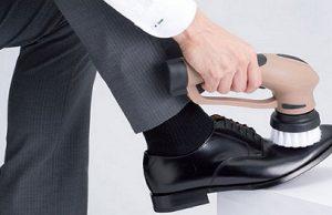 máy đánh giày cầm tay pin sạc