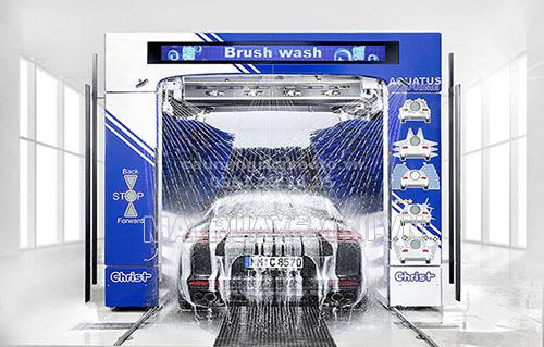 công nghệ rửa xe ô tô