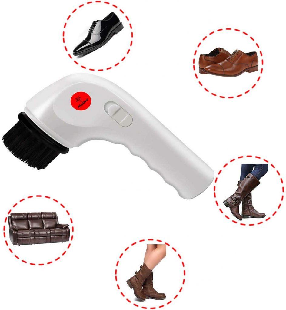Ứng dụng của máy đánh bóng giày Maque