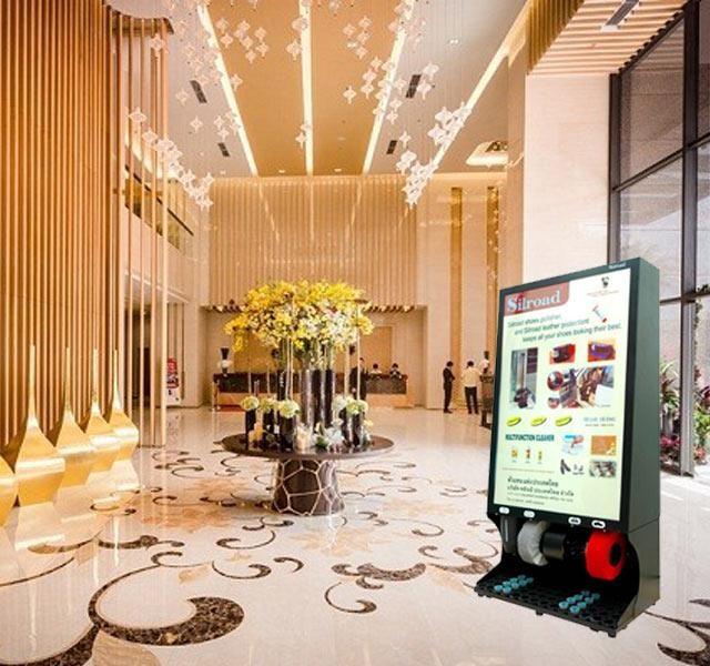Máy đánh giày dành cho khách sạn