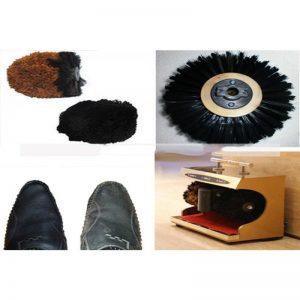 Cần lựa chọn chổi kỹ càng cho máy đánh giày