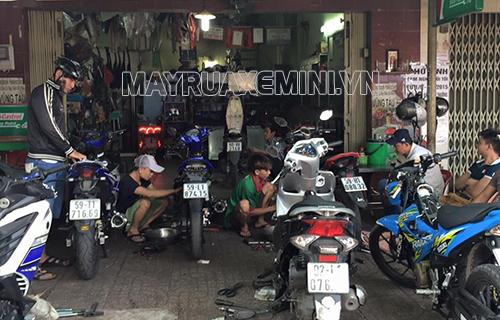 vệ sinh xe máy
