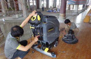 Nguyên nhân khiến cho máy chà sàn không hoạt động và cách khắc phục hiệu quả