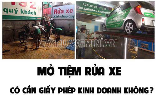kinh-doanh-rua-xe-co-can-giay-phep-kinh-doanh-khong
