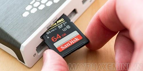sửa lỗi thẻ nhớ không format được