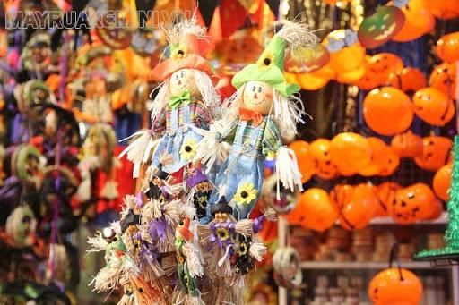 Địa điểm mua đồ halloween