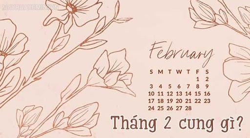 sinh tháng 2 là cung gì