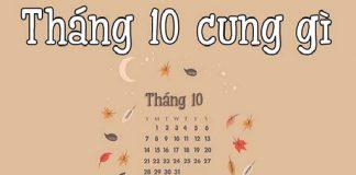 Sinh tháng 10 là cung gì? Vận mệnh và tính cách như thế nào?