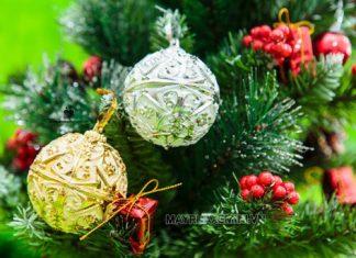 Trái châu - Đồ trang trí Noel không thể thiếu