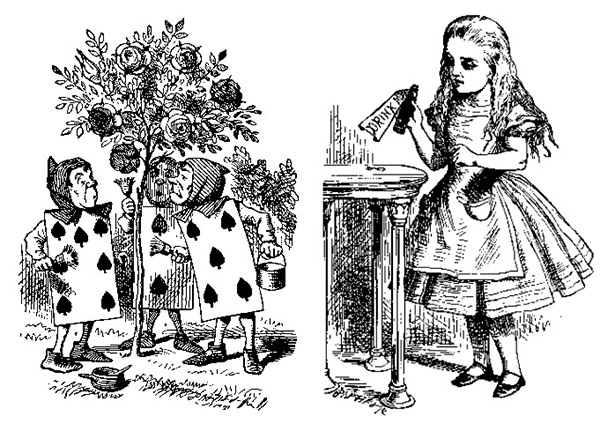 Alice di sản của John Tenniel