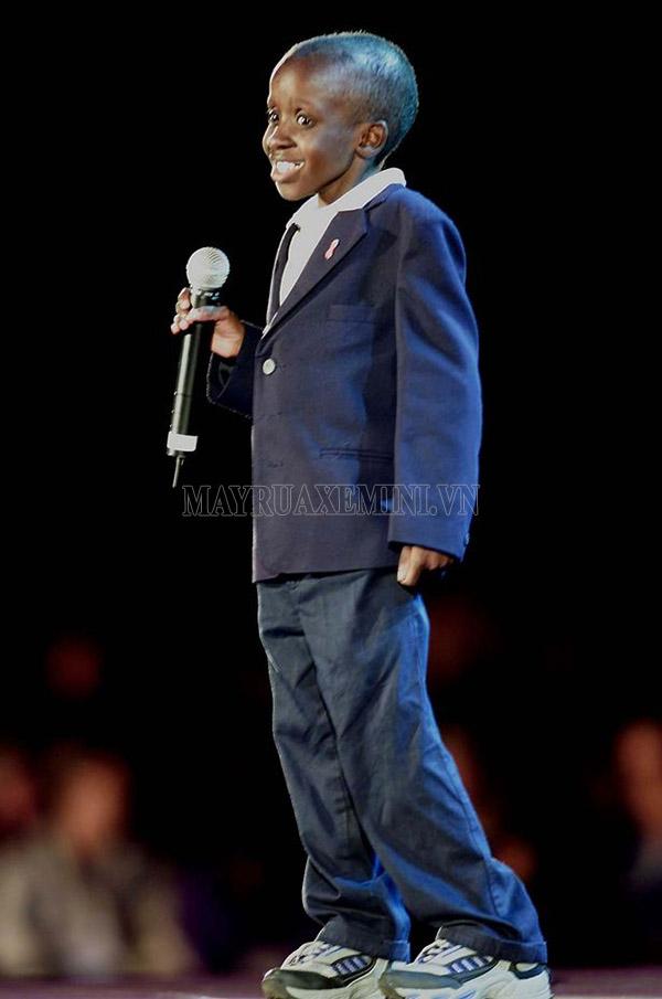 Nkosi Johnson tại Hội nghị Quốc tế AIDS lần thứ 13