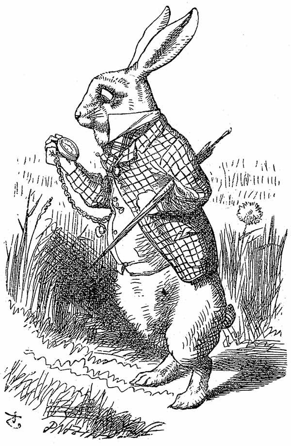 Phong cách vẽ tranh độc đáo của John Tenniel