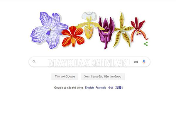 Google Doodle - vinh danh giáo sư Rapee Sagarik