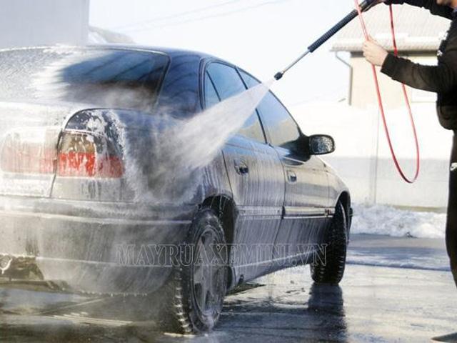 Cách chỉnh áp lực máy rửa xe