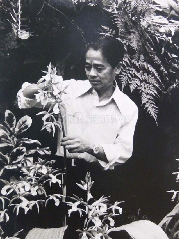 Rapee Sagarik với tình yêu với hoa lan