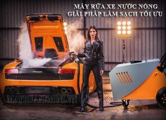 Máy phun rửa xe hơi nước nóng