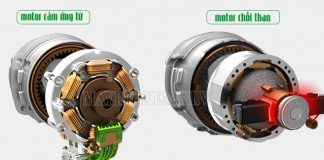Nên mua máy xịt rửa xe motor từ hay motor chổi than?