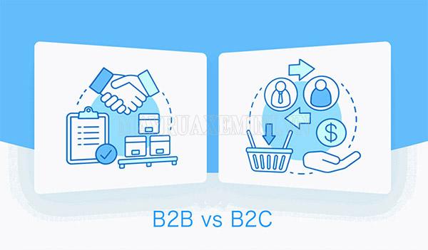 phân biệt b2b và b2c