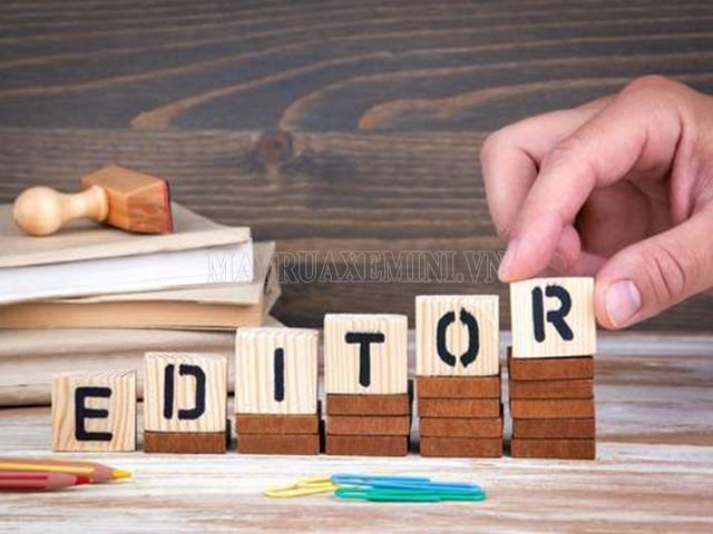 editor là gì
