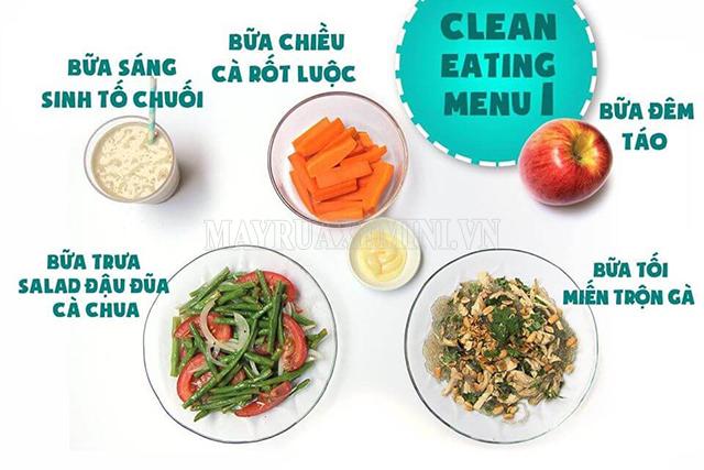 Thực đơn Eat Clean rẻ cho học sinh